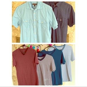 Lot of men's shirts
